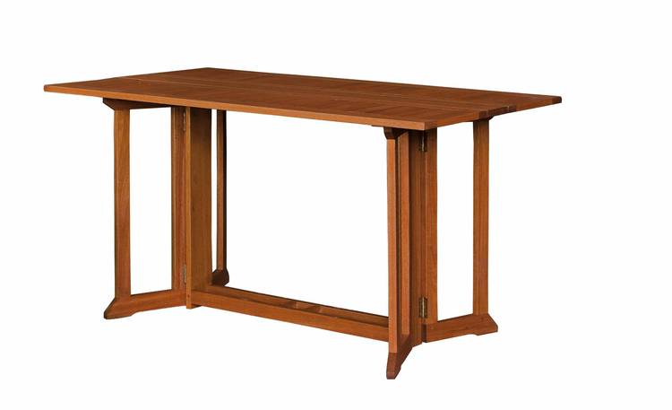 Tavolo consolle in balau
