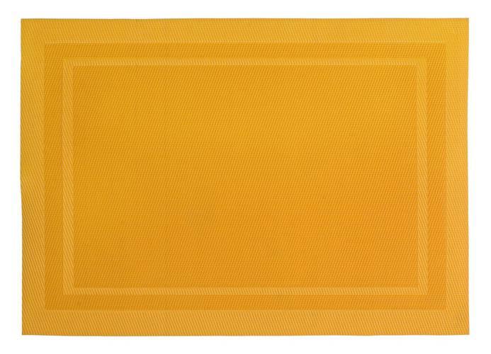 Tovaglietta americana intreccio pvc giallo