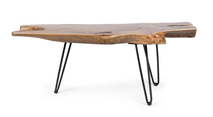 Tavolino salotto radice teak 100x40