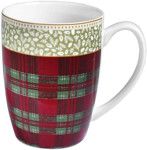 Tazza mug Sottobosco set2 pz porcellana