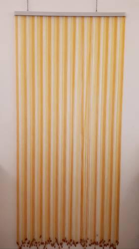 Tenda da porta corda giallo 100x220