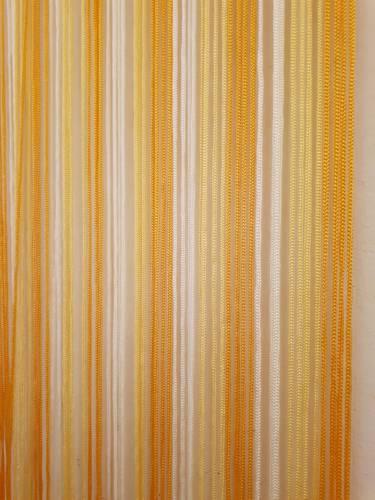 Tenda da porta corda giallo 125x240