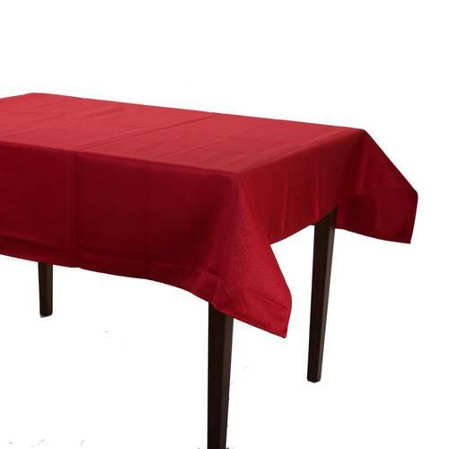 Tovaglia natale rossa Jacquard