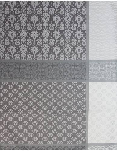 Tovaglia resinata grigio patchwork antimacchia