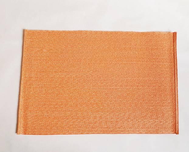 Tovaglietta americana rafia sintetica colore arancione