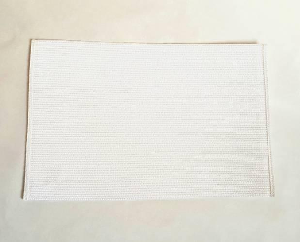 Tovaglietta americana rafia sintetica colore bianco