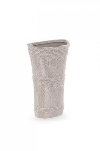 Umidificatore ceramica grigio con cuori termosifoni