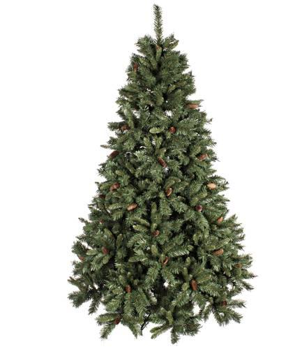 Albero pino verde lux con pigne
