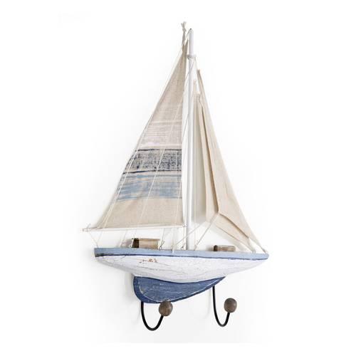 Appendiabiti barca a vela 2 posti