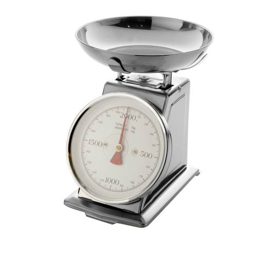 Bilancia squadrata acciaio 2 kg