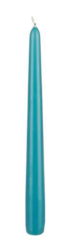 Candela conica azzurra 25h