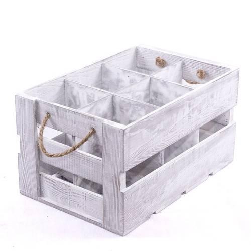 Porta bottiglie cassetta legno