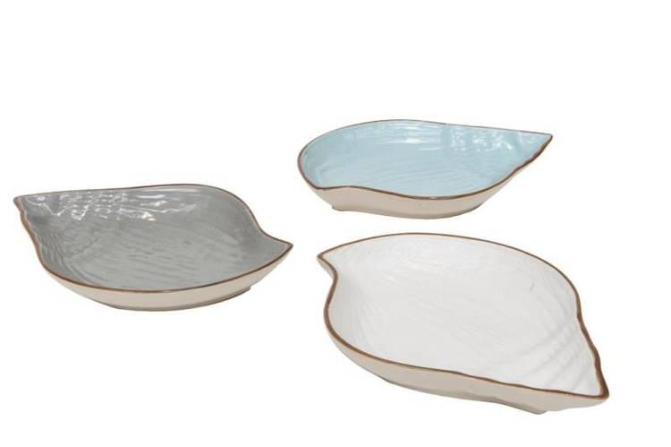 Ciotola conchiglia porcellana collezione mediterraneo