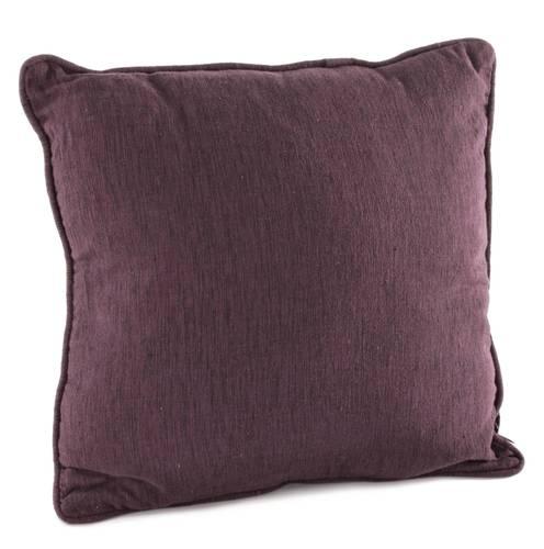 Cuscino cotone prugna 45x45