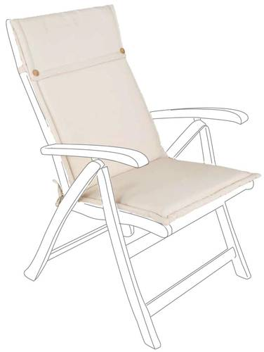 Cuscino schienale alto poly da poltrona per esterno