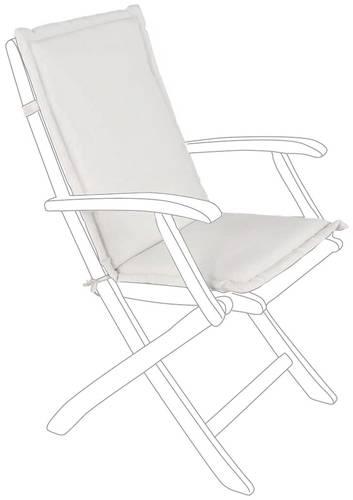 Cuscino schienale basso poly da poltrona per esterno