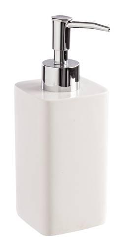 Dispenser easy per sapone liquido quadrato bianco