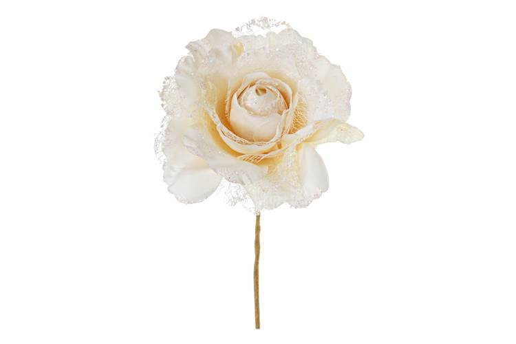 Fiore rosa avorio pick 20h