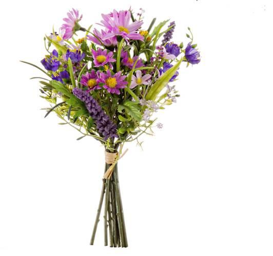 Mazzolino fiori di campo viola 24h