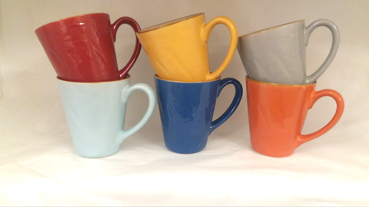 Mug colorata porcellana collezione mediterraneo