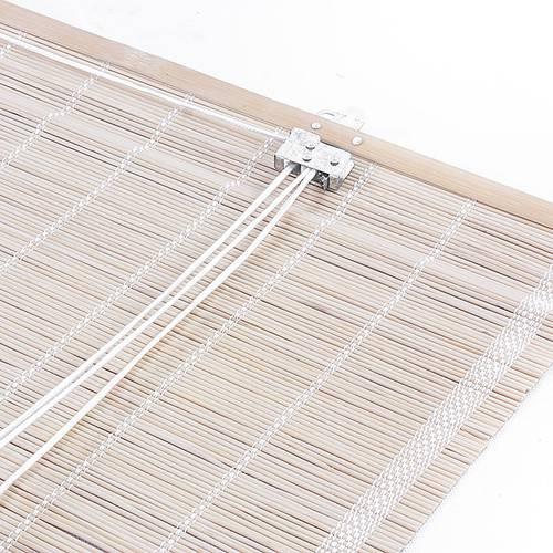 Tapparella da sole bambu naturale tessitura fitta avvolgibile