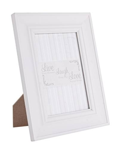 Portafoto bianco liscio 10x15