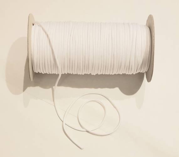 Ricambio corda cotone bianca per tende avvolgibili bambu