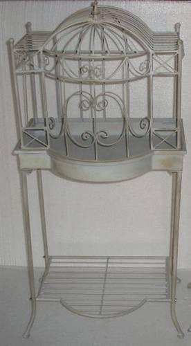 Serra porta fiori ferro grigio formato pagoda