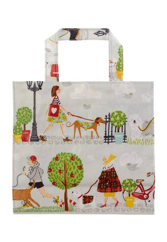 Shopping bag cani a passeggio small Ulster Weavers