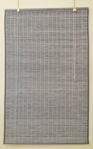 Tenda bambu' grigio decapè avvolgibile