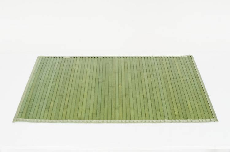 Tappeto bamboo verde