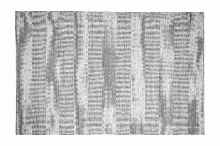 Tappeto lana disegual filo azzurro 160x240