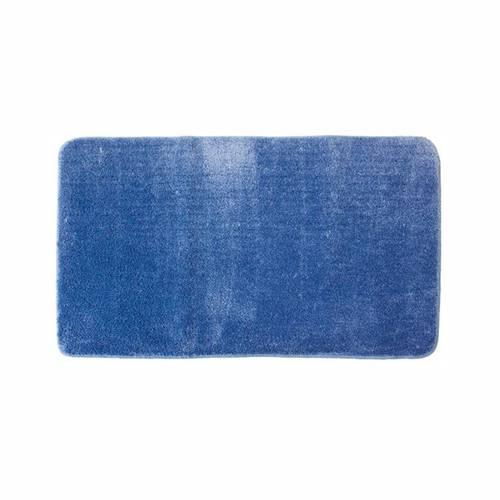 Tappeto bagno microfibra Living azzurro 70x130