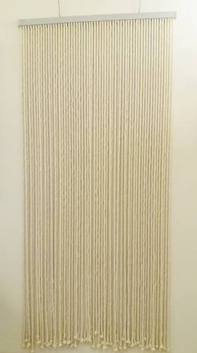 Tenda da porta corda cotone naturale 100x220