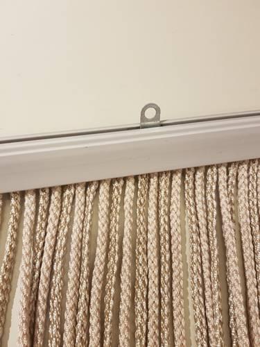 Tenda da porta corda spessa beige