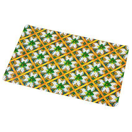 Tovaglietta americana pvc ortigia fiori gialli