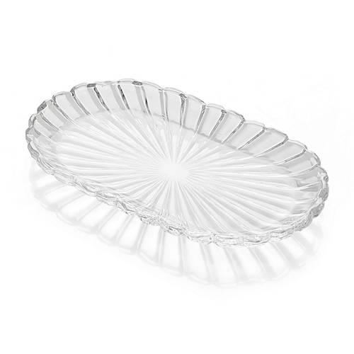 Vassoietto ovale vetro