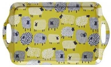 Vassoio melamina pecore 48x30